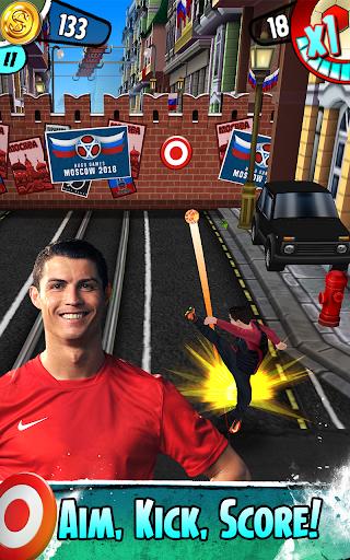 Cristiano Ronaldo: Kick'n'Run – Football Runner 7 تصوير الشاشة