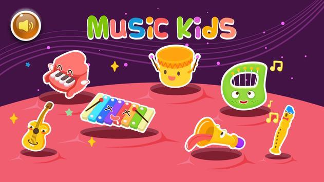 Music kids - Songs & Music Instruments 1 تصوير الشاشة