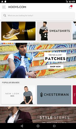 Koovs Online Shopping App скриншот 14