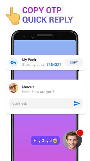 Messenger - Messages, Texting, Free Messenger SMS 12 تصوير الشاشة