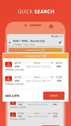 tajawal: Flights, Hotels and Holidays screenshot 1