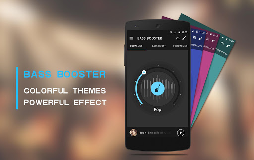 Equaliser musik & Penguat bass screenshot 8