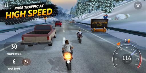 Highway Rider Motorcycle Racer screenshot 2