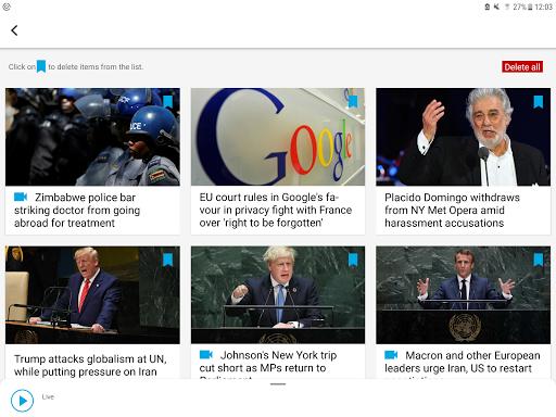 FRANCE 24 - Live international news 24/7 screenshot 9