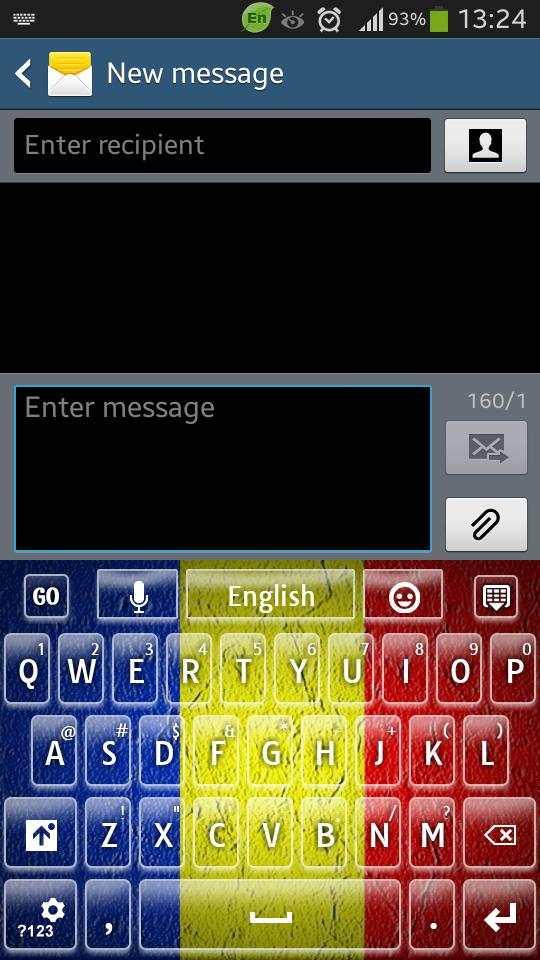 Romania Keyboard screenshot 7