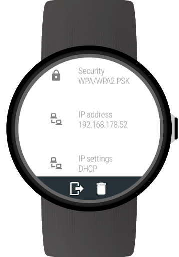 Wi-Fi Manager for Wear OS (Android Wear) screenshot 8