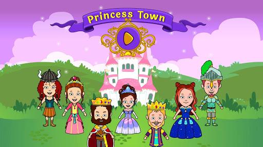 مدينة الأميرة تيزي - ألعاب قلعة بيت العرائس 2 تصوير الشاشة
