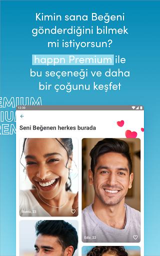 happn – Sohbet, aşk ve buluşma screenshot 16