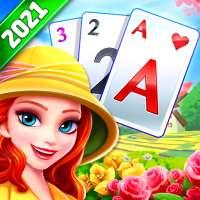 Solitaire TriPeaks Journey - لعبة بطاقات مجانية on 9Apps