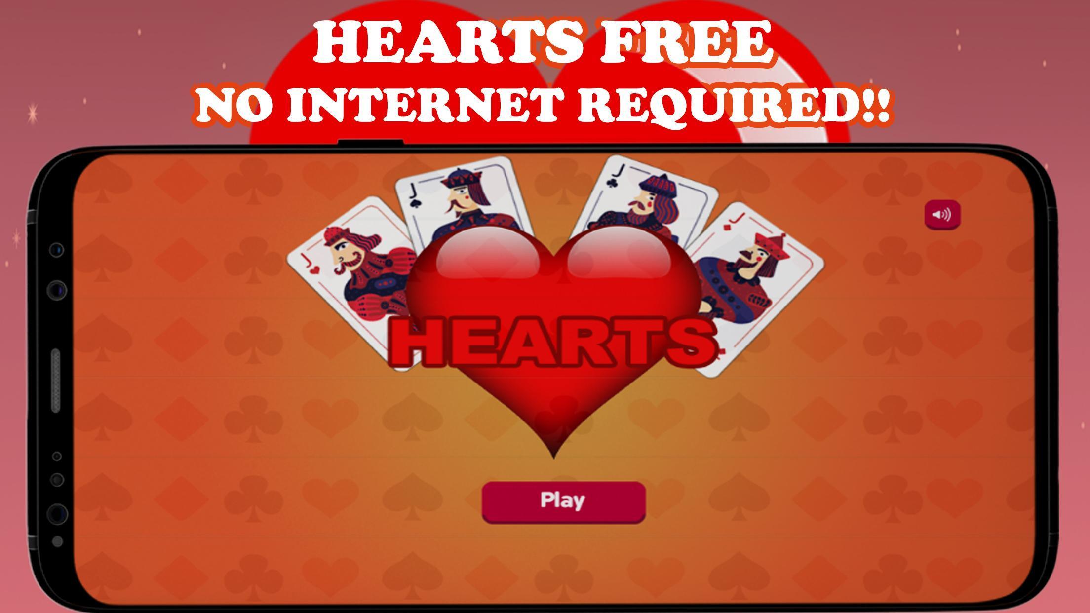 Hearts Card Game - Free Offline | no wifi required 1 تصوير الشاشة