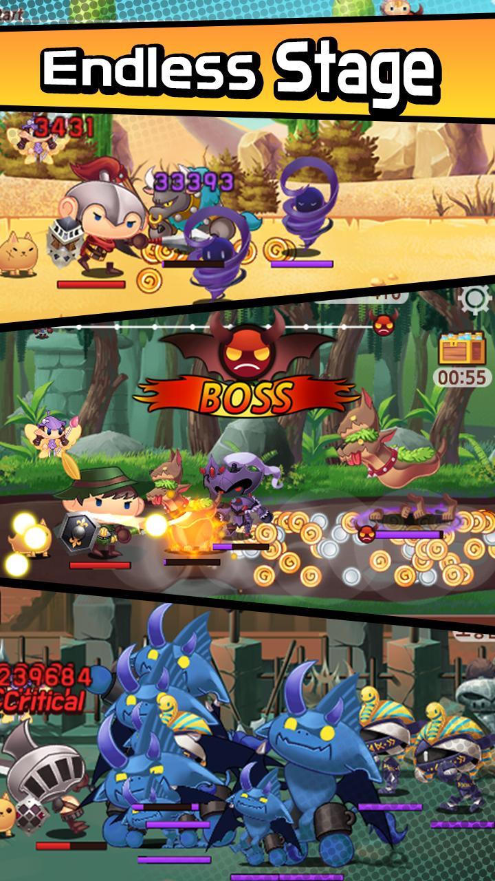 Sudden Warrior (Tap RPG) screenshot 4
