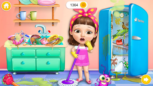 Sweet Baby Girl Cleanup 5 - Messy House Makeover 2 تصوير الشاشة