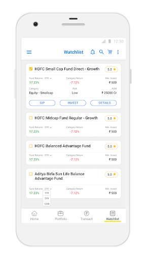 Karvy Nivesh - Mutual Fund, SIP, Investment App screenshot 4