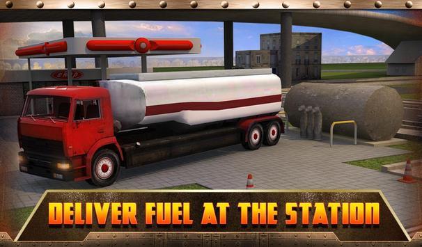 Oil Transport Truck 2016 screenshot 12