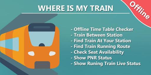 Where is my Train - Train Live Location & Status 1 تصوير الشاشة