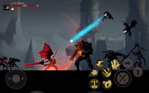 Shadow of Death: Dark Knight - Stickman Fighting screenshot 14