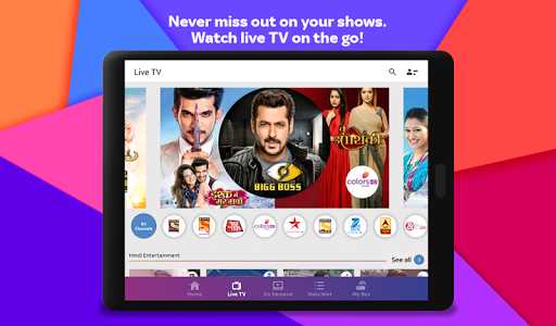 Tata Sky Mobile- Live TV, Movies, Sports, Recharge 14 تصوير الشاشة