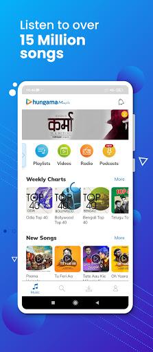 Hungama Music - Stream & Download MP3 Songs screenshot 1