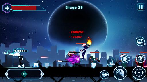 Stickman Ghost 2: Galaxy Wars - Shadow Action RPG screenshot 5