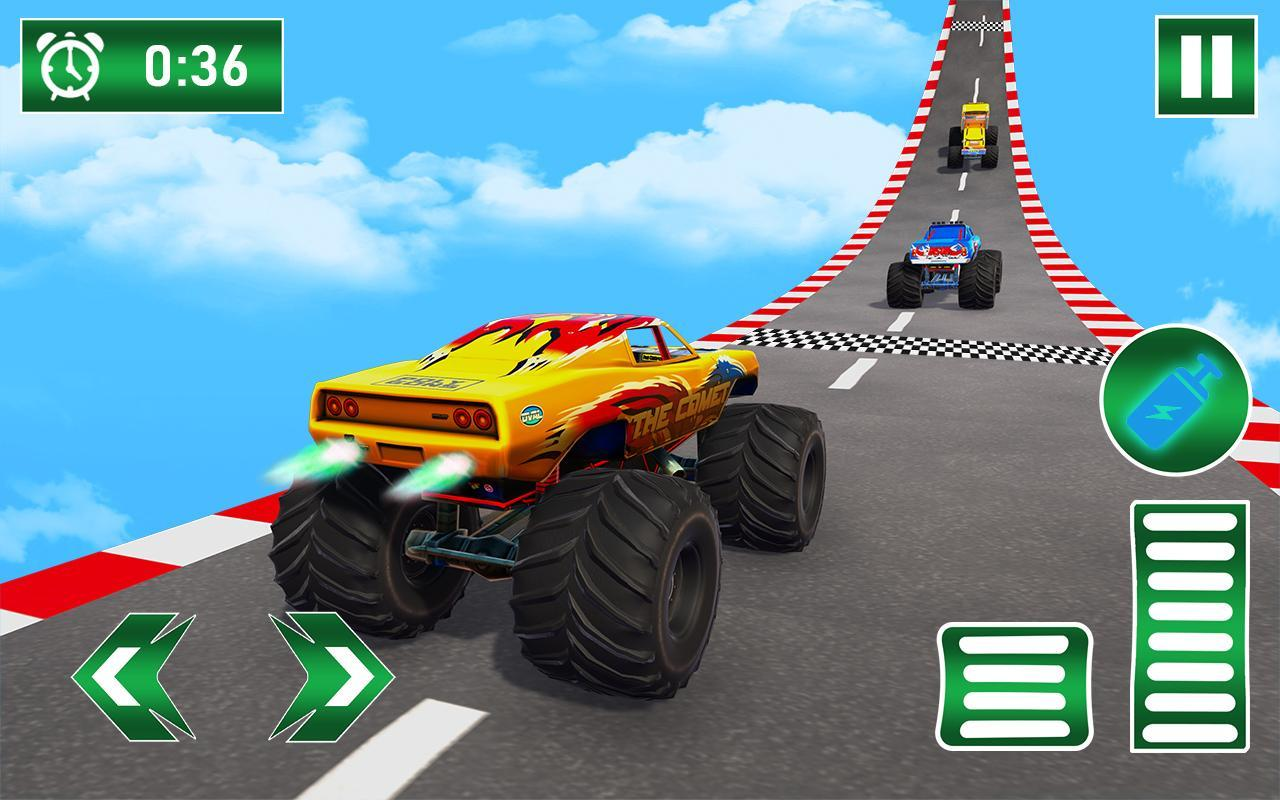 Monster Truck on Impossible Tracks screenshot 1