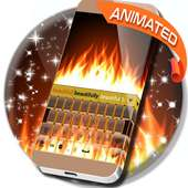 Burning Live Fire Keyboard on 9Apps