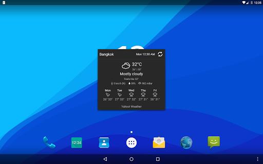 Digital Clock Widget Xperia screenshot 18