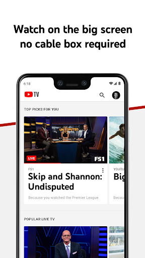 YouTube TV - Watch & Record Live TV screenshot 3