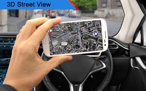 GPS Map, Live Street View: Navigation & Direction screenshot 3