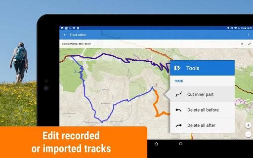 Locus Map Free - Hiking GPS navigation and maps screenshot 12