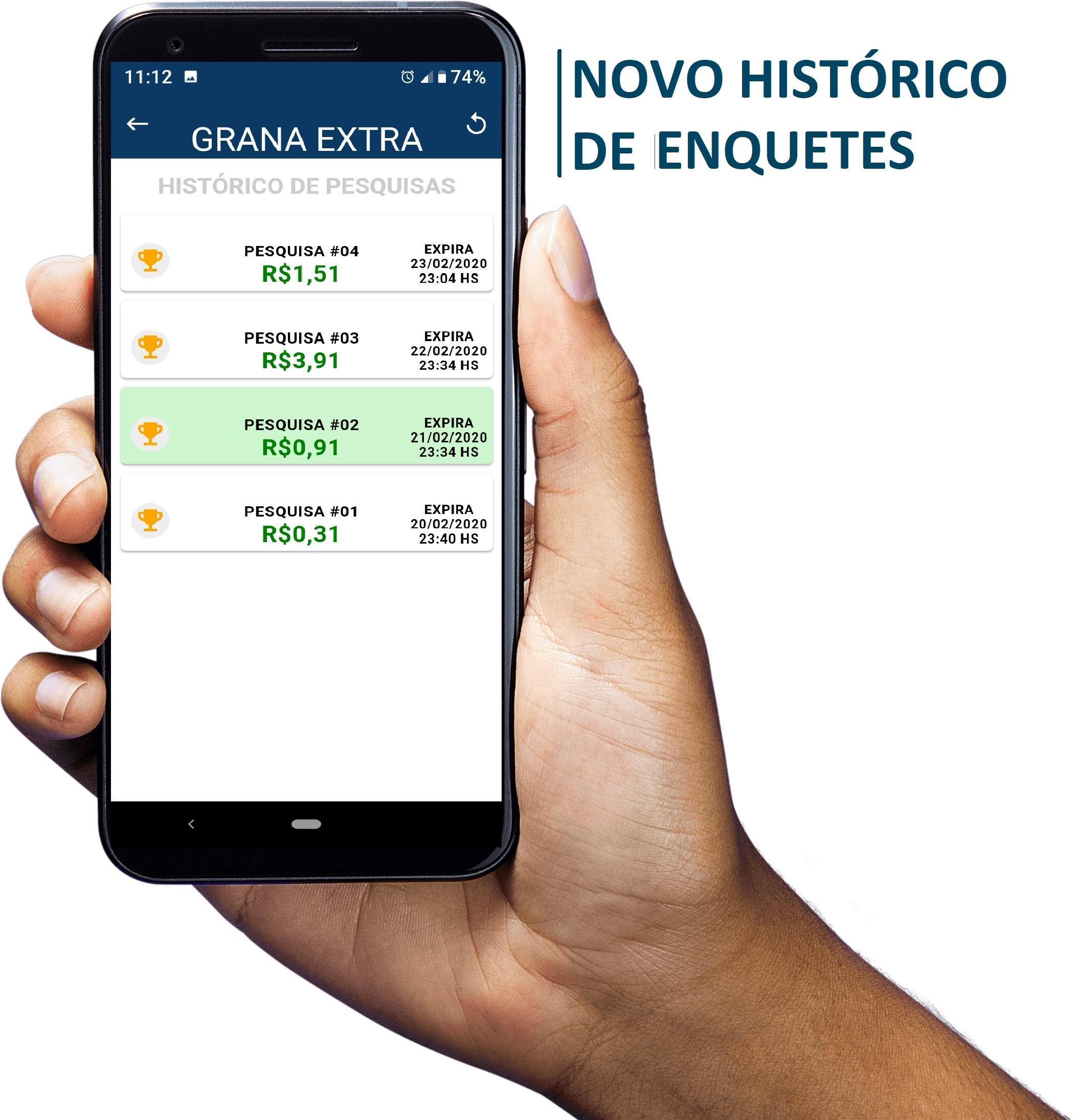 Grana Extra - Rewards screenshot 4