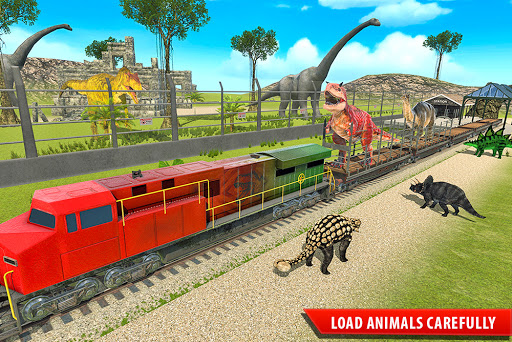 Train Simulator 2021: Rescue Dinosaur Transport screenshot 5