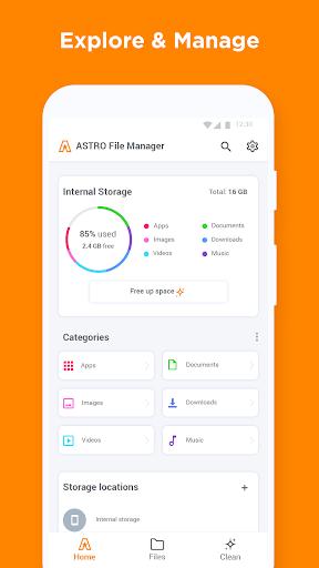 ASTRO File Manager & Storage Organizer screenshot 2