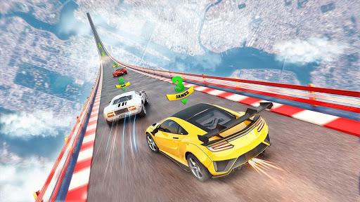 Mega Rampe Car Stunt: Autorennspiele Offline 2021 screenshot 4