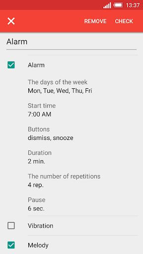Speaking clock DVBeep screenshot 2