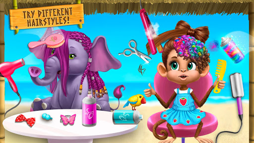 Jungle Animal Hair Salon 2 - Tropical Beauty Salon स्क्रीनशॉट 7