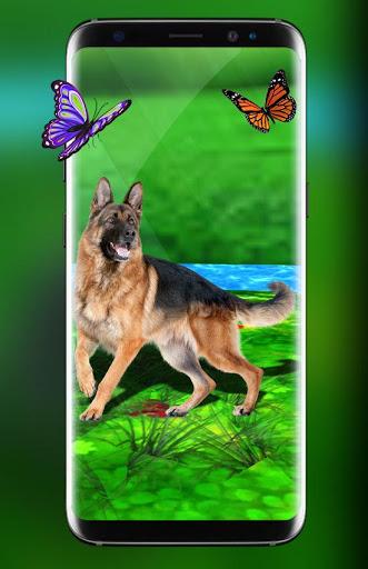 Pet Dog Live Wallpaper HD: Cute Dog Backgrounds screenshot 1
