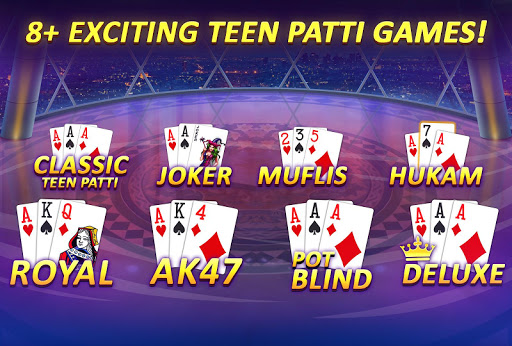 Teen Patti Gold - 3 Patti & Rummy & Poker screenshot 4