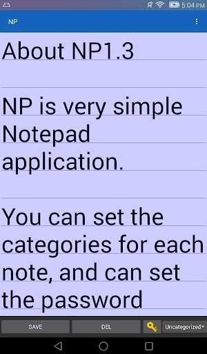 NP-Notepad screenshot 11