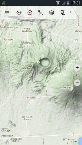 Central America Topo Maps 8 تصوير الشاشة