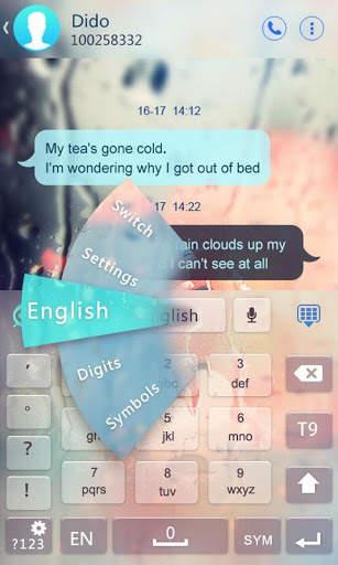 Urdu for GO Keyboard - Emoji screenshot 4