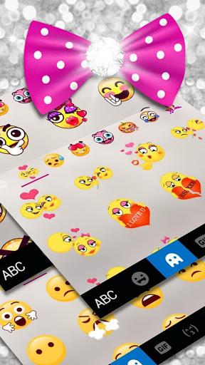 Twinkle Minny Bowknot Keyboard Theme screenshot 4
