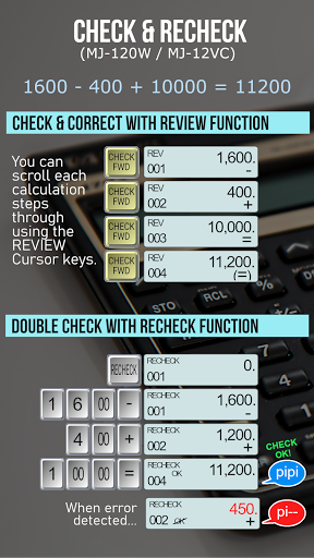 Calculator - CASIO style Multi calc with Remainder screenshot 8