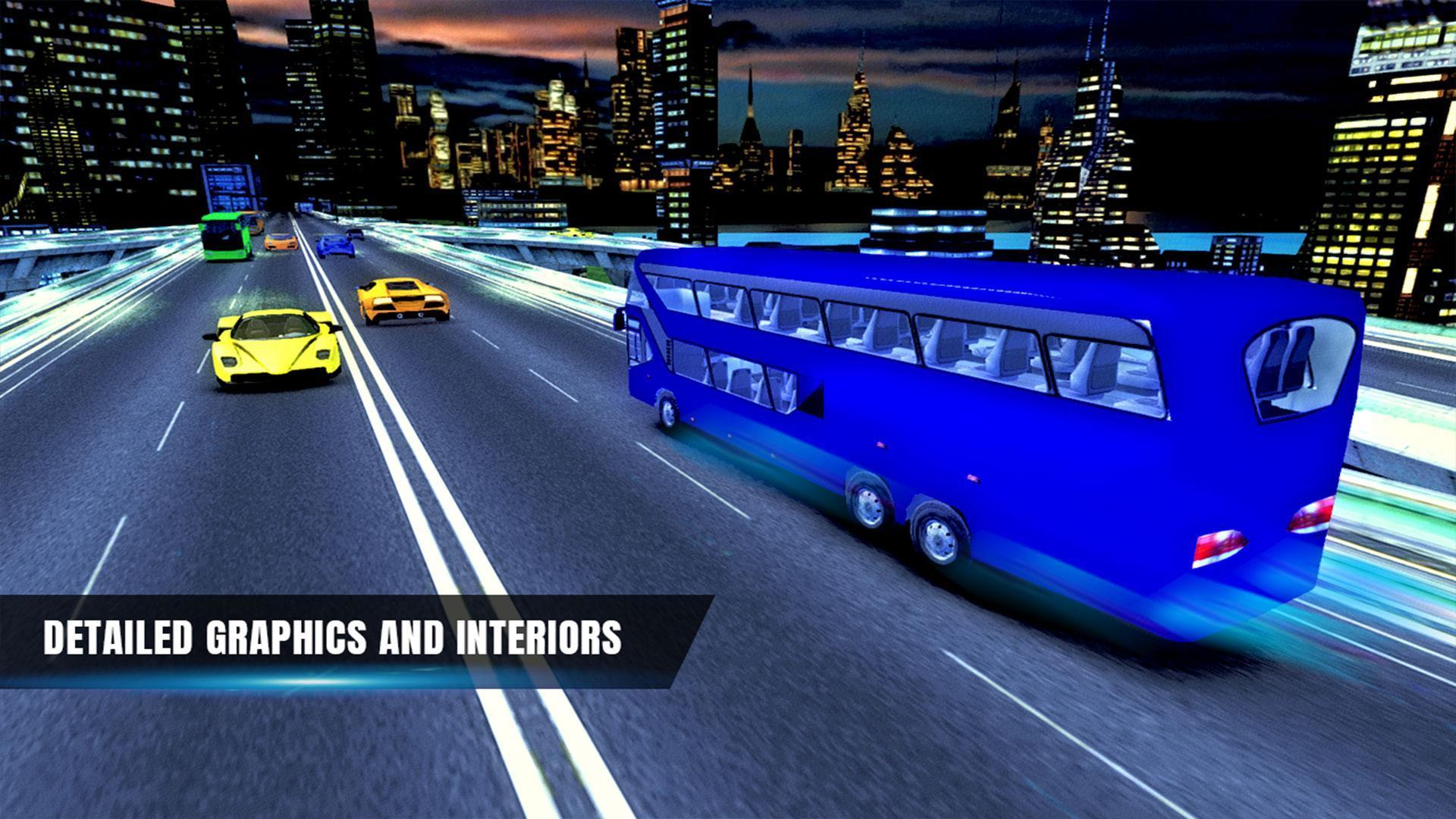 City Coach Bus Simulator 17 - Real Parking Test 3D 7 تصوير الشاشة