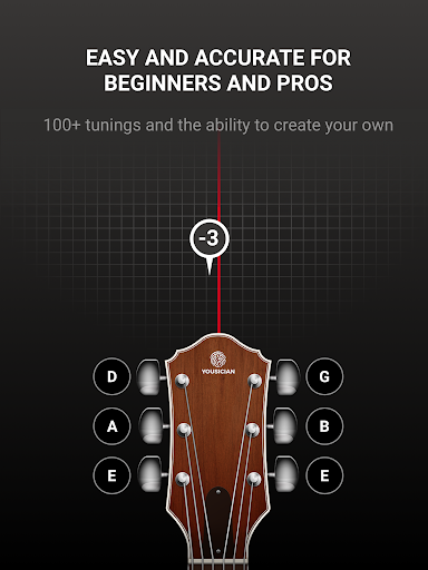 GuitarTuna - Tuner for Guitar Ukulele Bass & more! 8 تصوير الشاشة