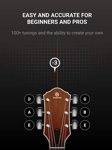 GuitarTuna - Tuner for Guitar Ukulele Bass & more! screenshot 9