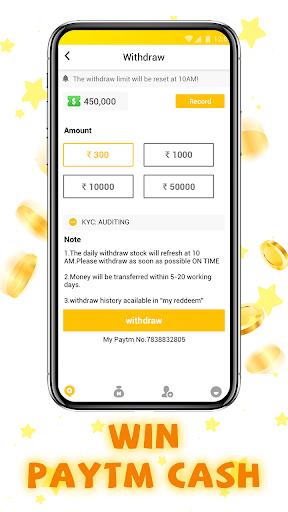 WinGo QUIZ - Earn Money Play Trivia Quiz screenshot 4
