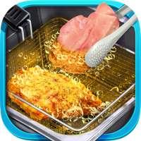Deep Fried Crispy Chicken Parmesan - Street Food on 9Apps