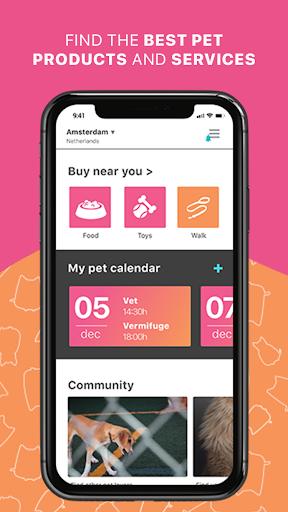 GoApp.pet - Pet community for pet lovers 1 تصوير الشاشة