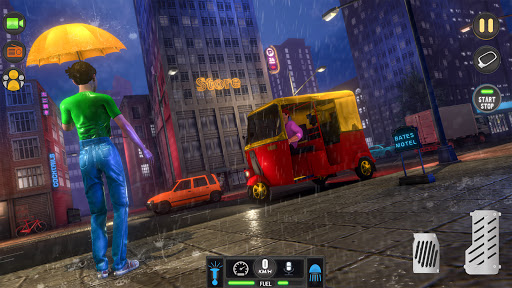 Tuk Tuk Rickshaw: Free Driving Games screenshot 7