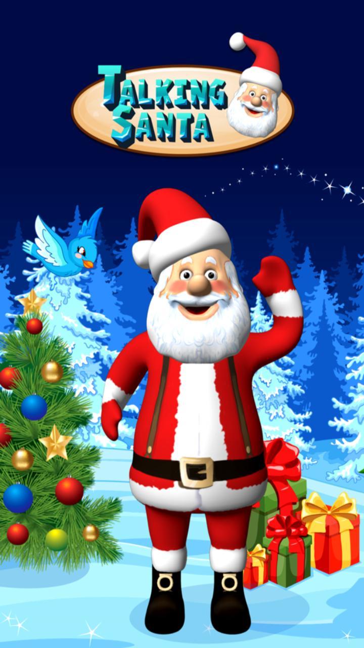 Talking Santa screenshot 1